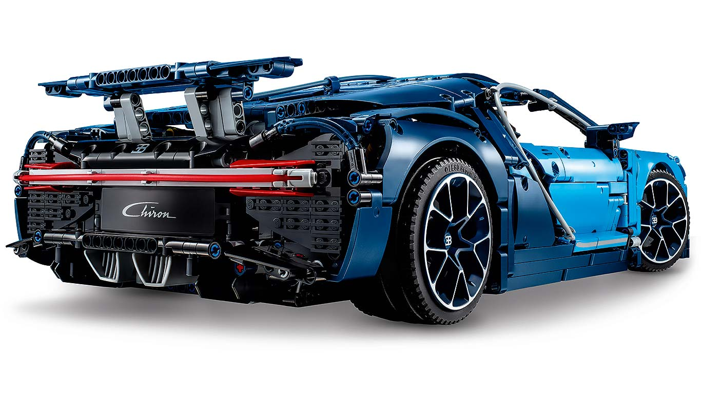 lego bugatti chiron a hypercar in 3 599 pieces motoring research. Black Bedroom Furniture Sets. Home Design Ideas