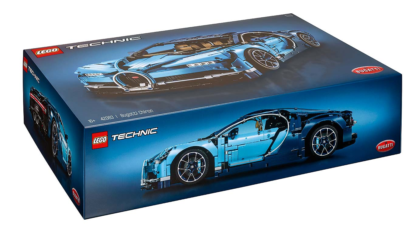 Lego Bugatti Chiron Motoring Research