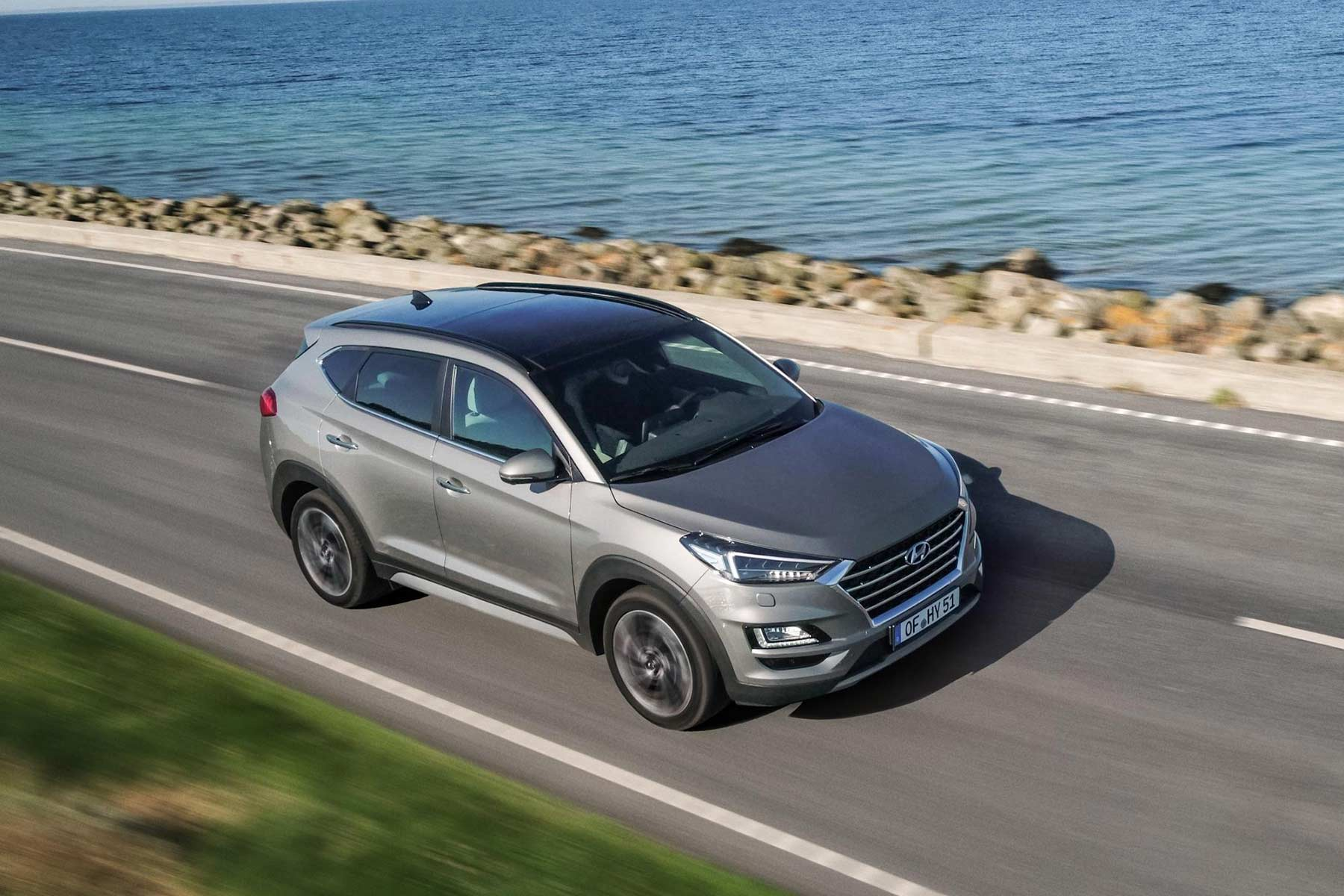hyundai confirms new 2018 tucson suv will gain diesel hybrid power motoring research. Black Bedroom Furniture Sets. Home Design Ideas