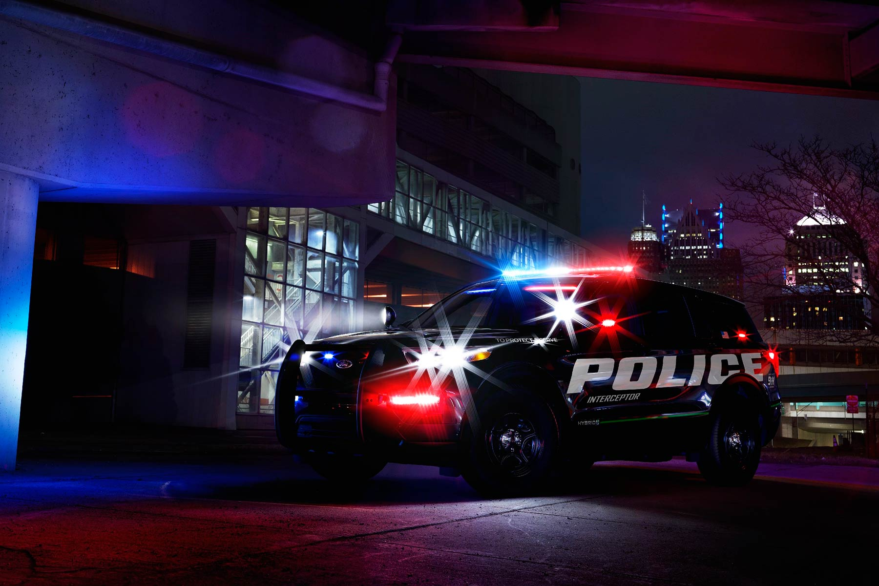 New 2019 Ford Police Interceptor Utility Hybrid
