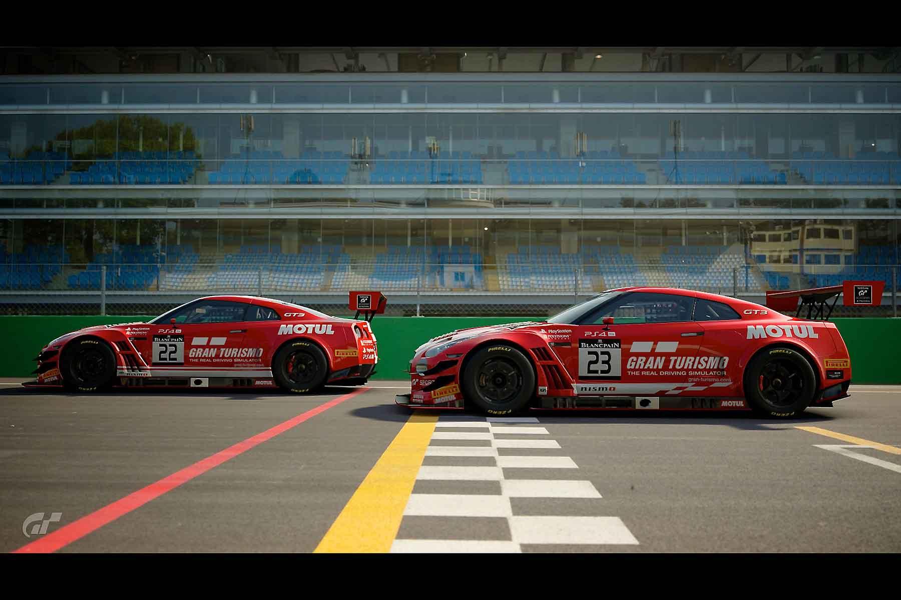 Nissan Gran Turismo gamers
