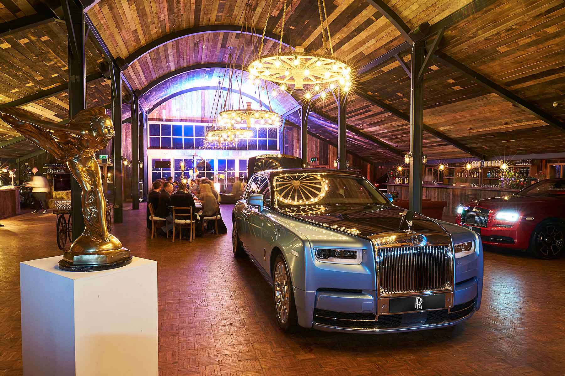 Rolls-Royce cars and cognac