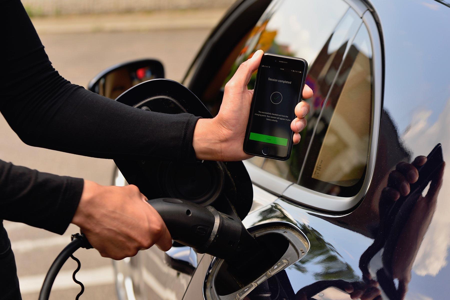 Porsche Charging Services App