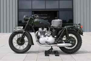 1962 Triumph TR6 Trophy motorcycle