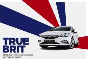 Vauxhall Astra: True Brit campaign
