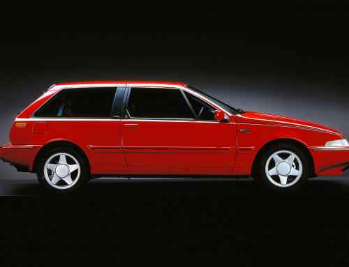 Volvo 480: the Euro wedge that wasn't sensible or square