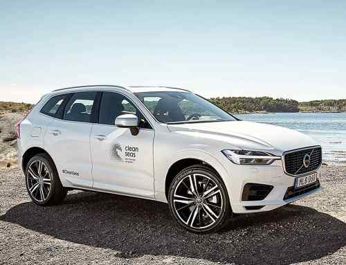 Volvo sets 25 percent recycled plastic goal for 2025