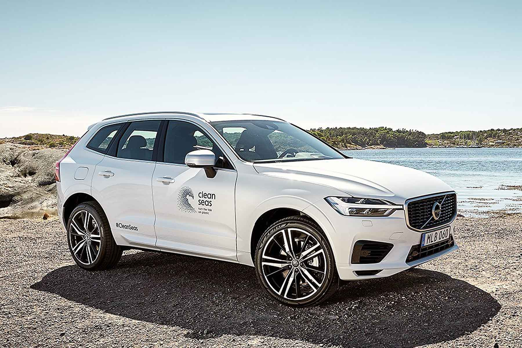 Volvo Cars recycled plastic commitment