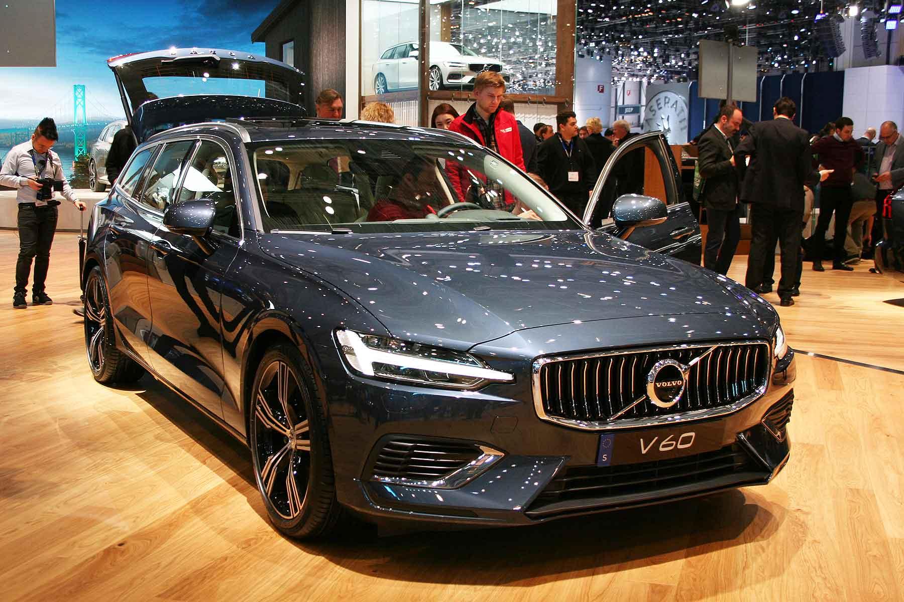 Volvo V60 at Geneva 2017