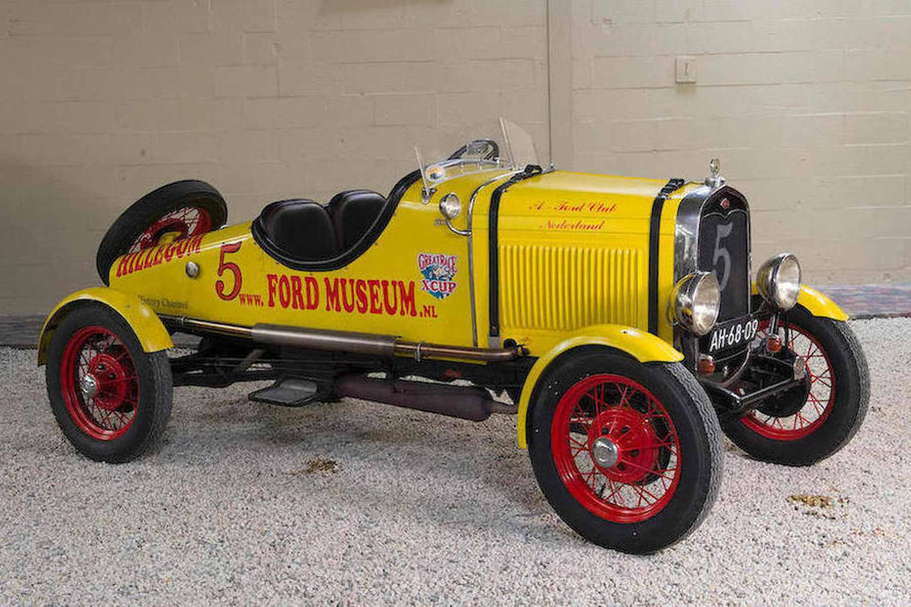 World's largest collection of classic Fords is up for auction