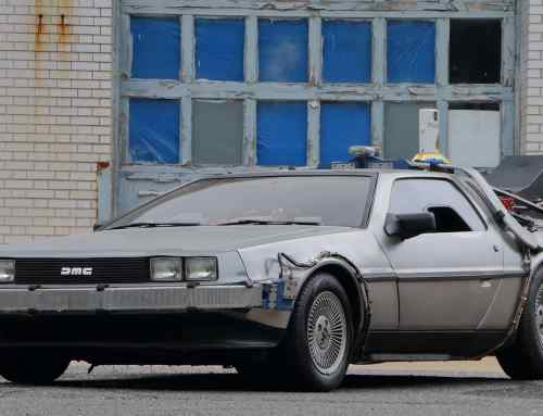 Now's your chance to buy the 'Back to the Future' DeLorean!