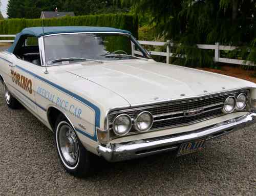 Big-block 1968 Torino pace car up for auction