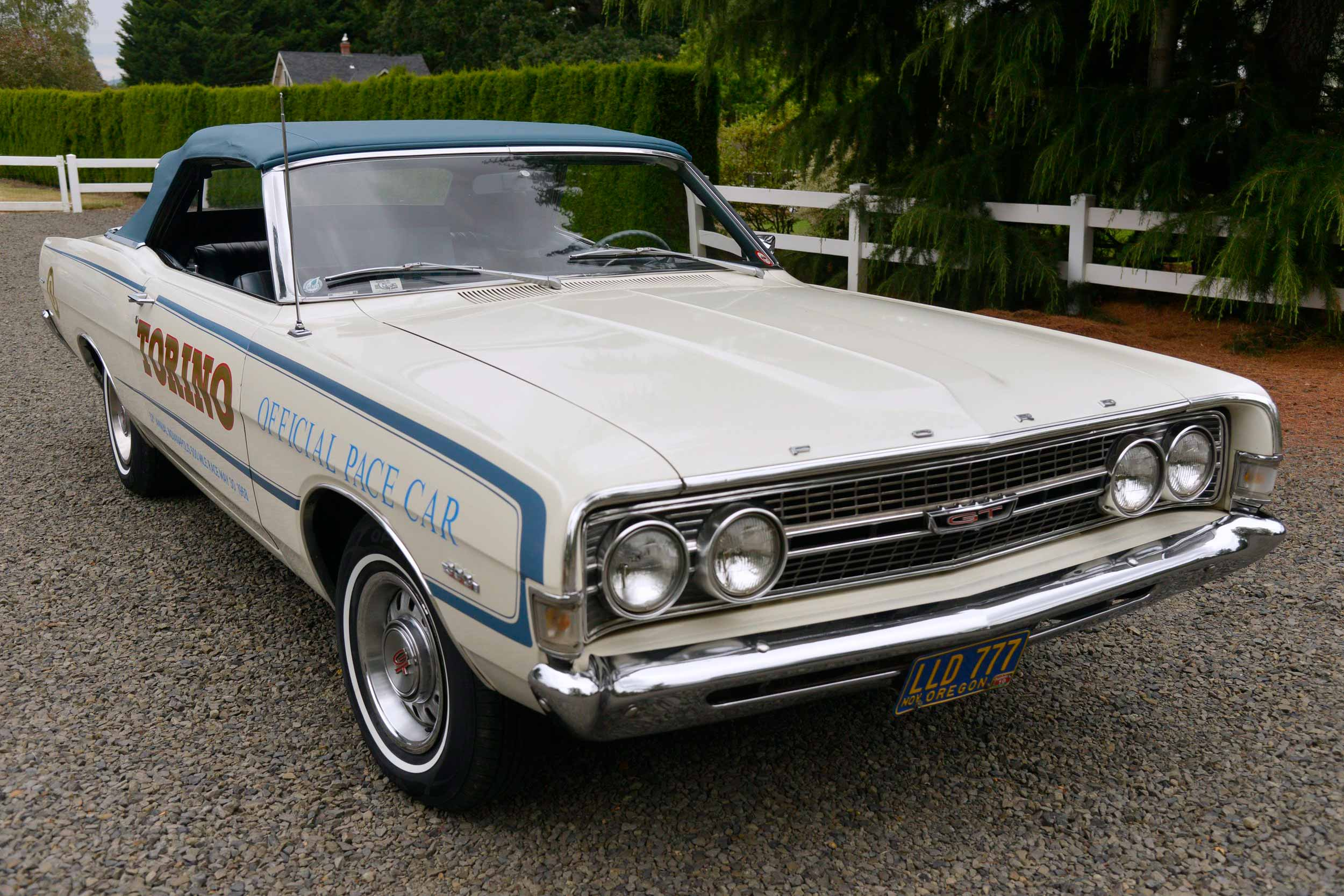 1968 Ford Torino GT Pace Car Edition