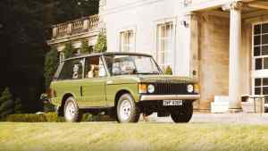 Royal Range Rover heads up Silverstone sale