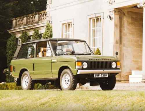 Royal Range Rover to star at Silverstone Classic auction