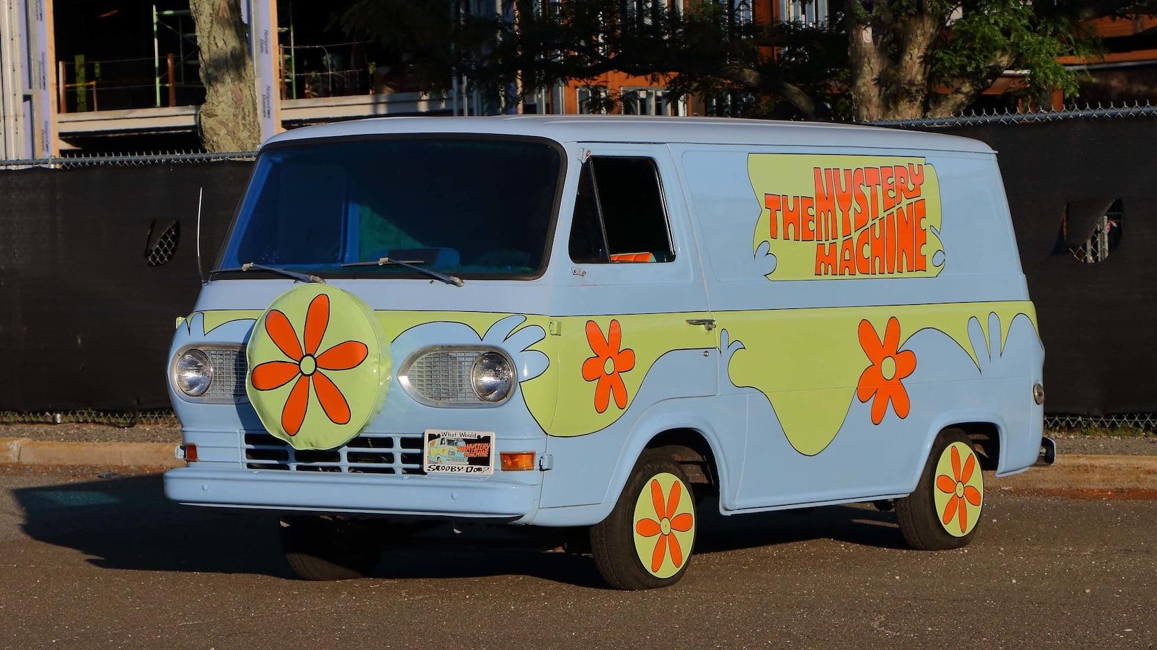 1966 Ford Econoline Van Mystery Machine Replica