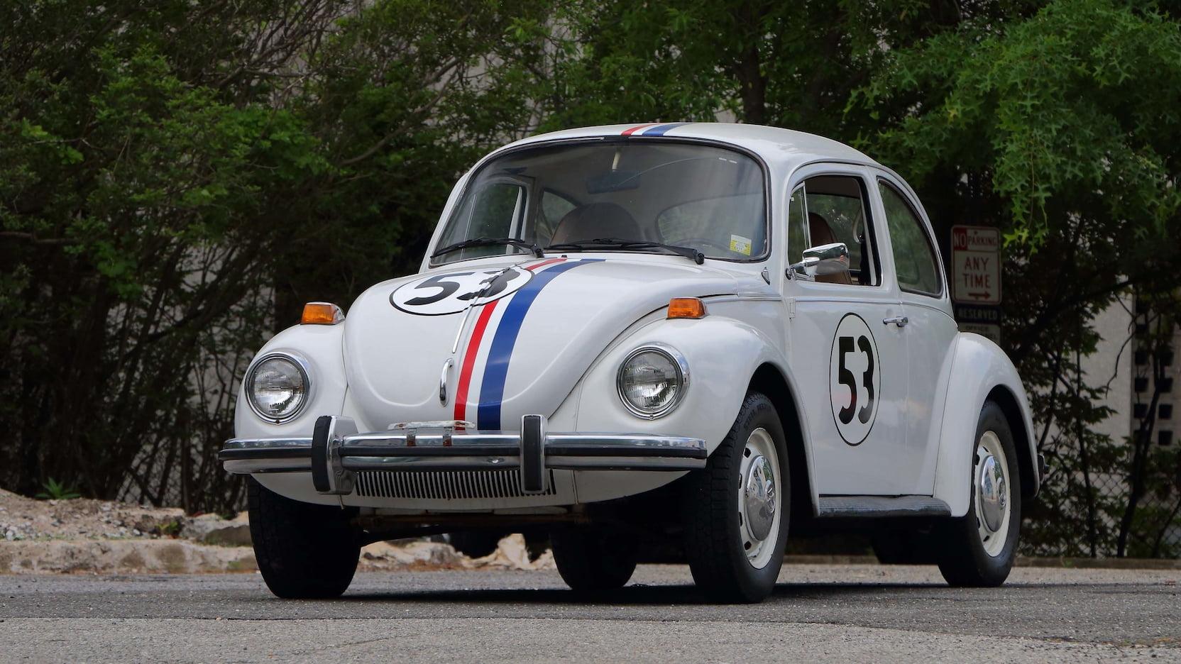 1974 Volkswagen Beetle Herbie