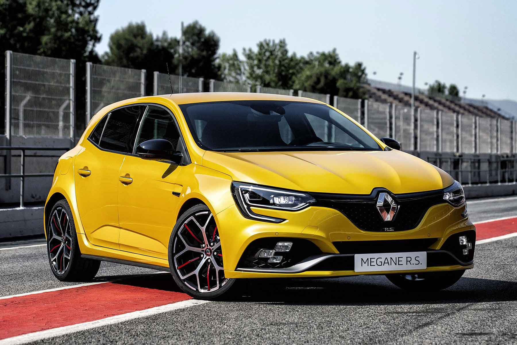 2018 renault megane r s trophy is most powerful renault sport ever motoring research. Black Bedroom Furniture Sets. Home Design Ideas