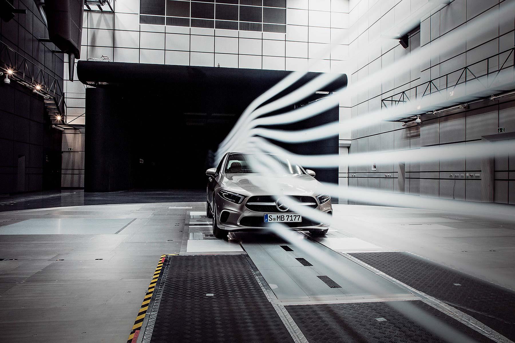 2018 Mercedes-Benz A-Class Saloon aero world record