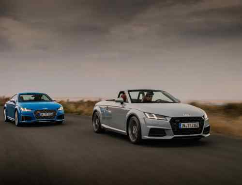 This is how Audi celebrated the TT's 20th birthday