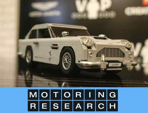 Lego recreates 007's Aston Martin DB5