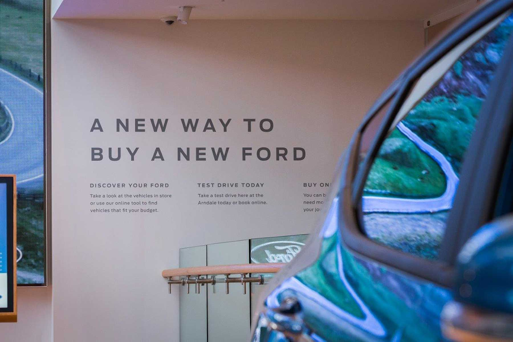Ford buy online car sales service launched