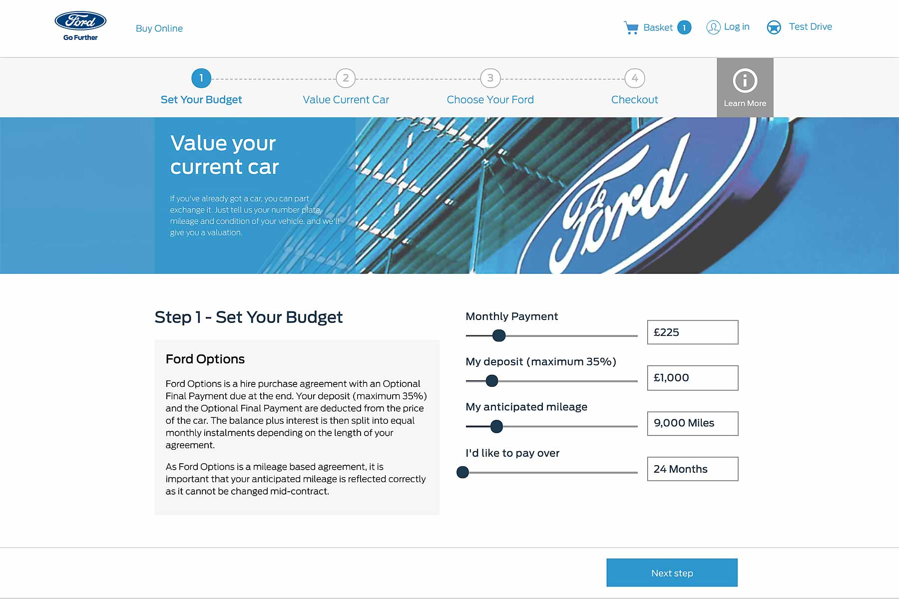 Ford Buy Online