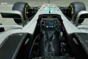 Mercedes F1 in Gran Turismo