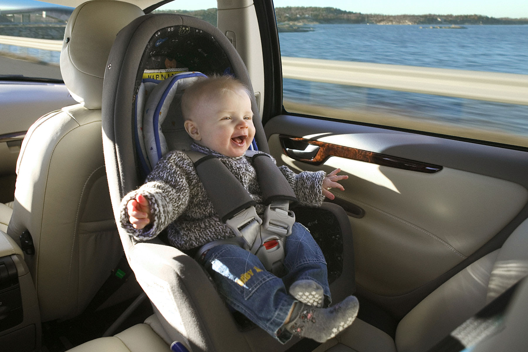 Keep your child rear-facing for longer, warns