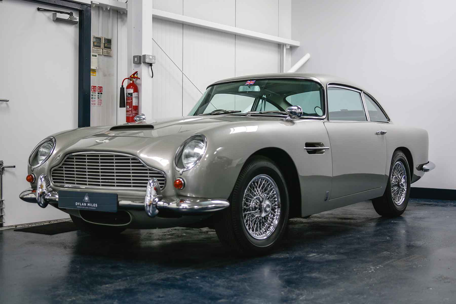 aston martin 'bond cars' star in classic collection
