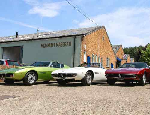 'Important' Maserati collection celebrates the golden age of grand tourers