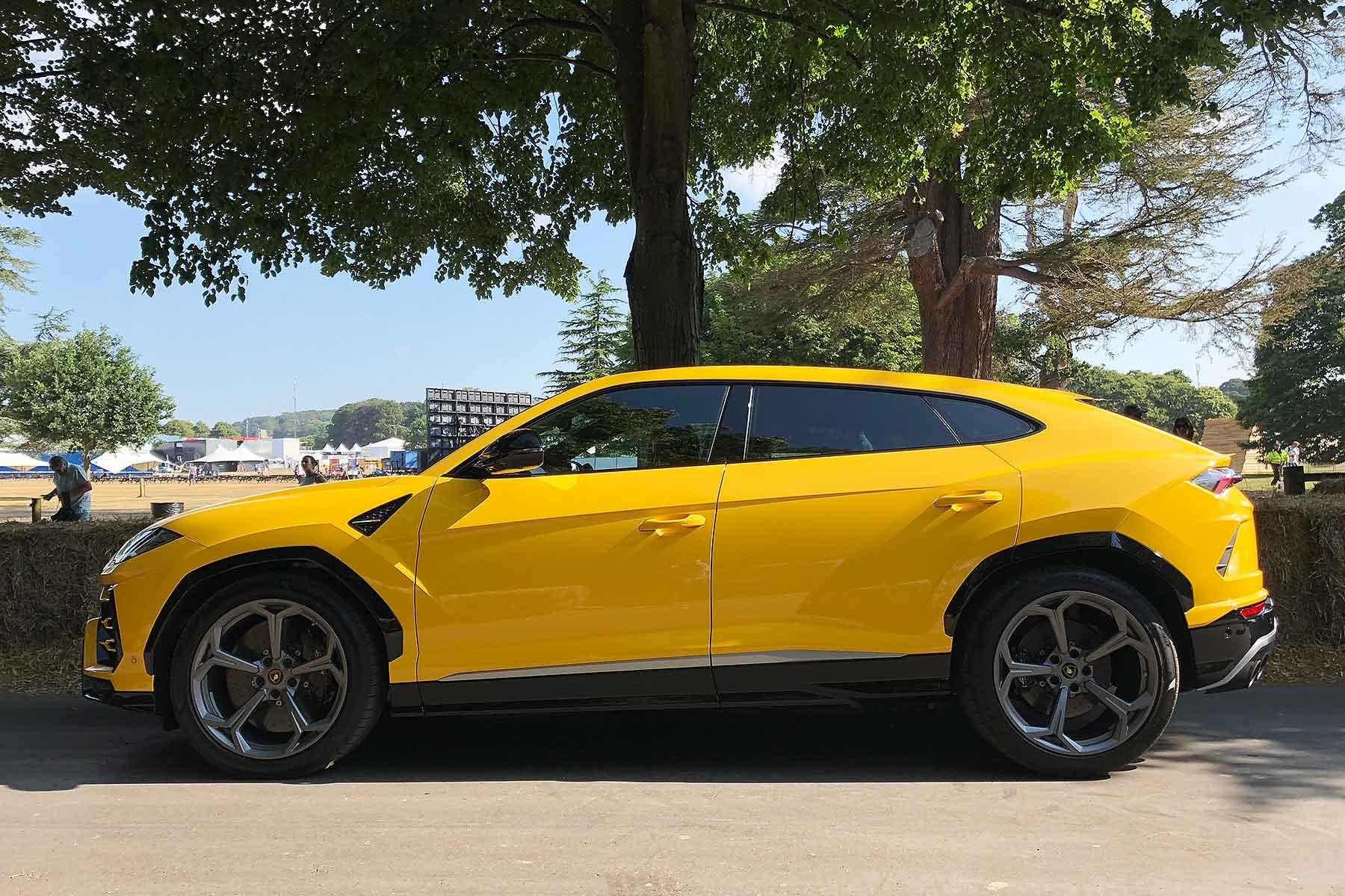 Lamborghini Urus Briefly Driven At Goodwood Motoring Research