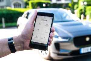 Jaguar Go I-Pace app