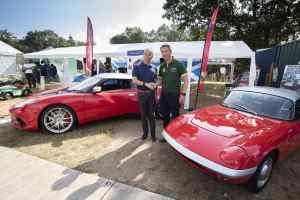 Jim Clark Lotus competition