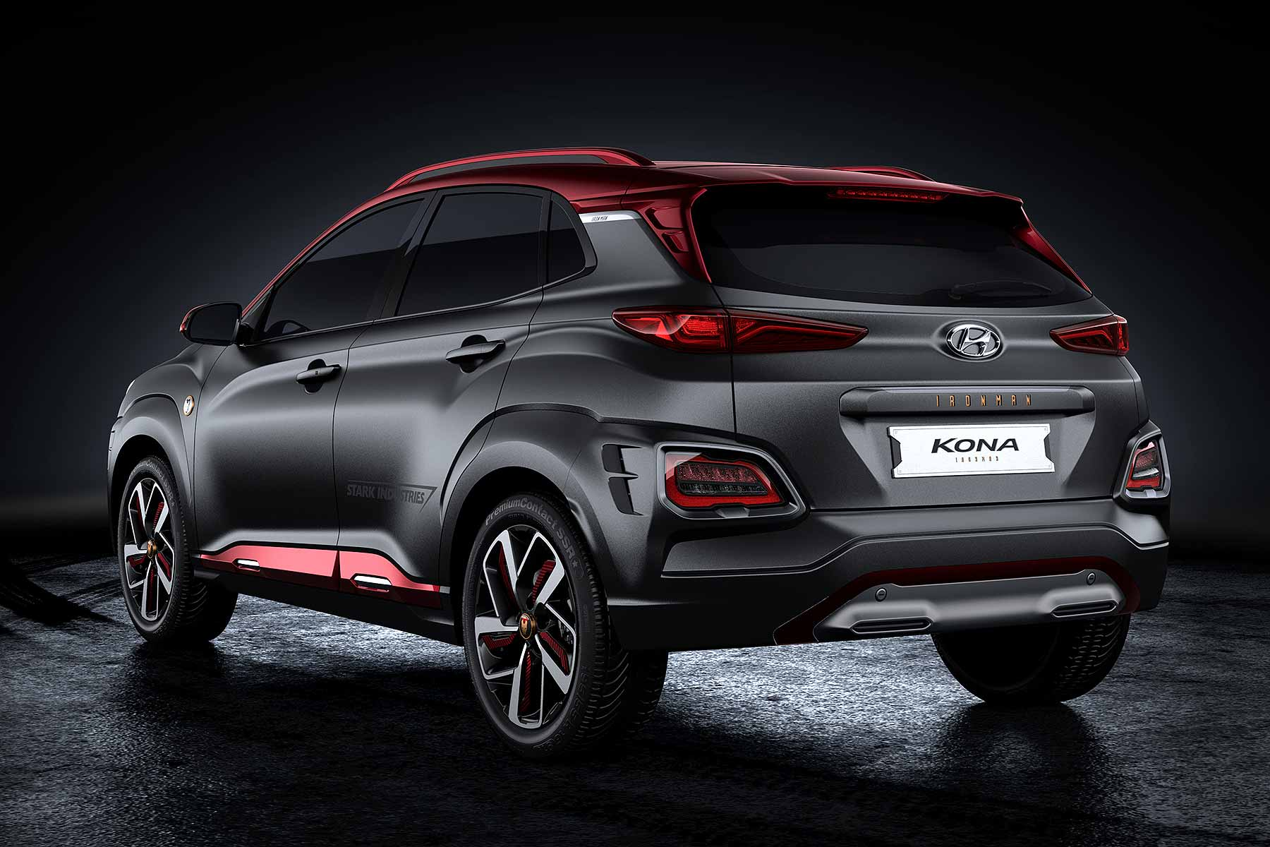 hyundai kona iron man edition revealed at comic con motoring research. Black Bedroom Furniture Sets. Home Design Ideas