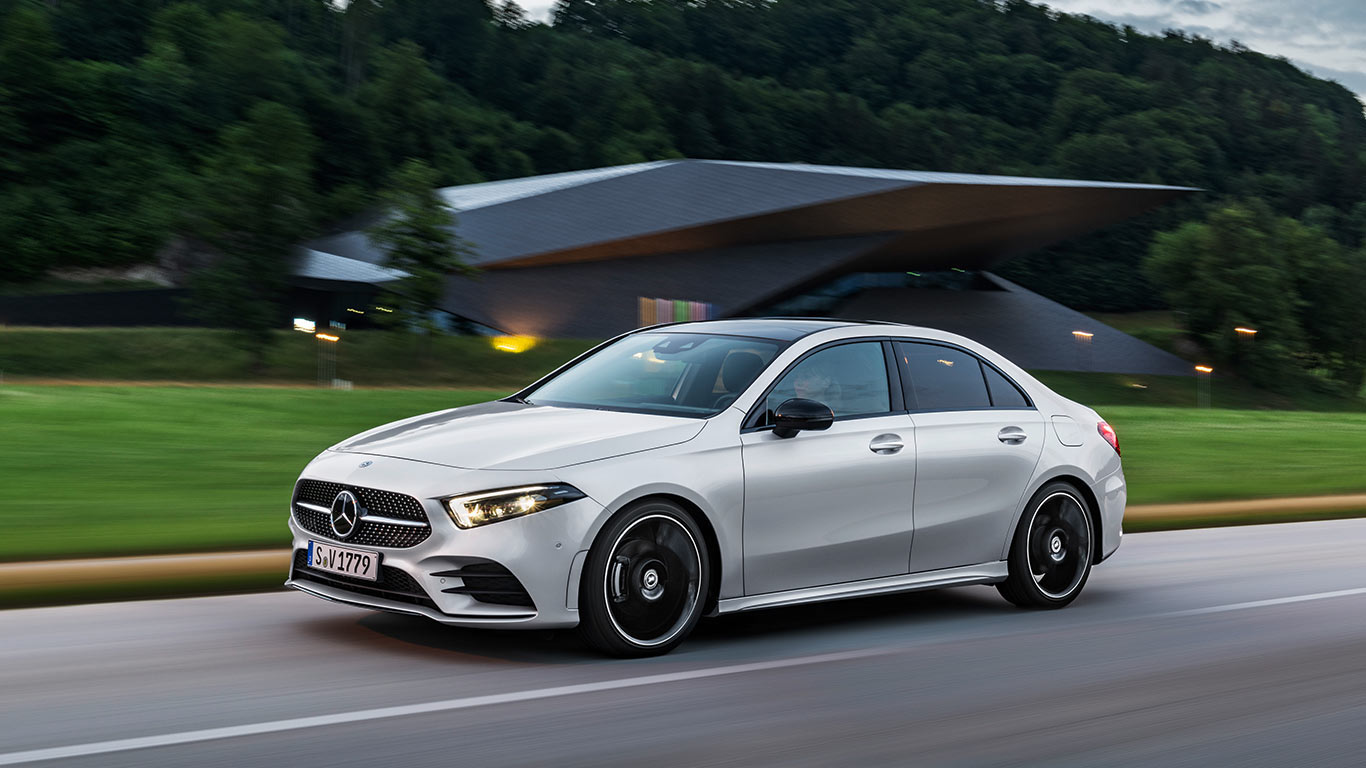 New Mercedes Benz A Cl Saloon Have Been Announced And The German Company Can Be Proud Of Taking Record For Most Aerodynamic Production Car