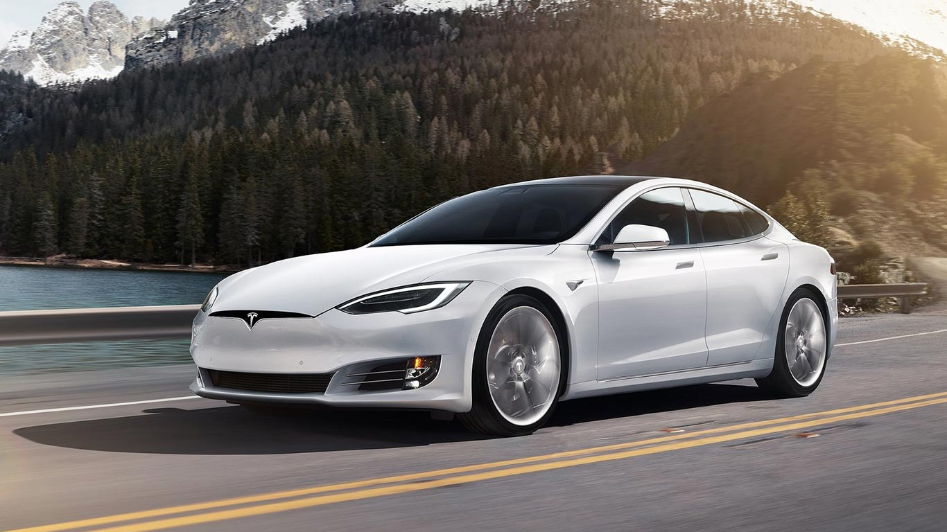 Much Of The Design Language Used On The Smaller Tesla Model  Was Inherited From The Larger Model S As Such That The Older Bigger Car Is Aero Efficient