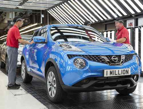 Nissan has now built 1 million Juke in Britain