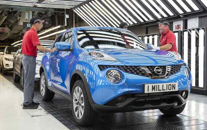 Nissan Juke 1 million