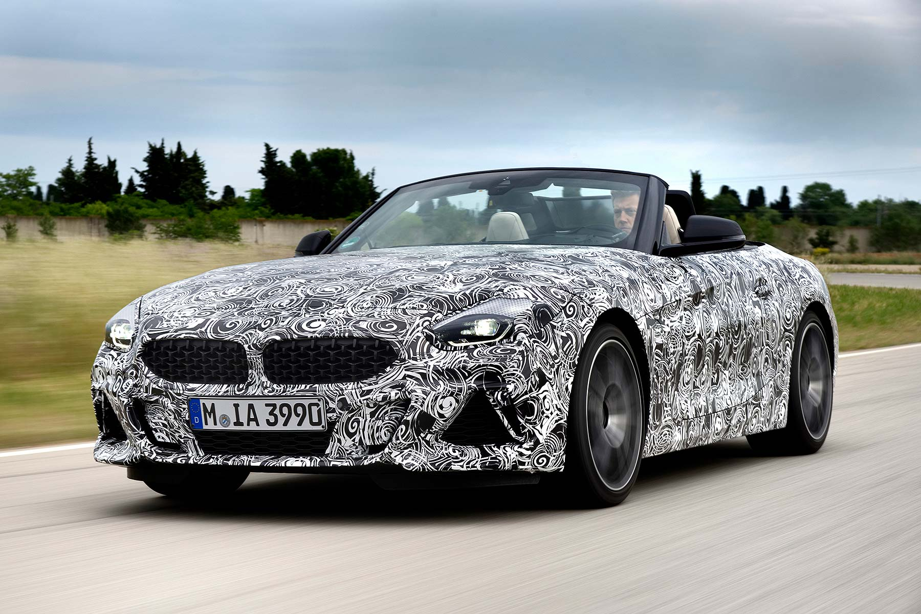 Disguised new 2019 BMW Z4