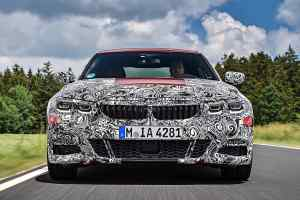 New 2019 BMW 3 Series prototype Nurburgring test