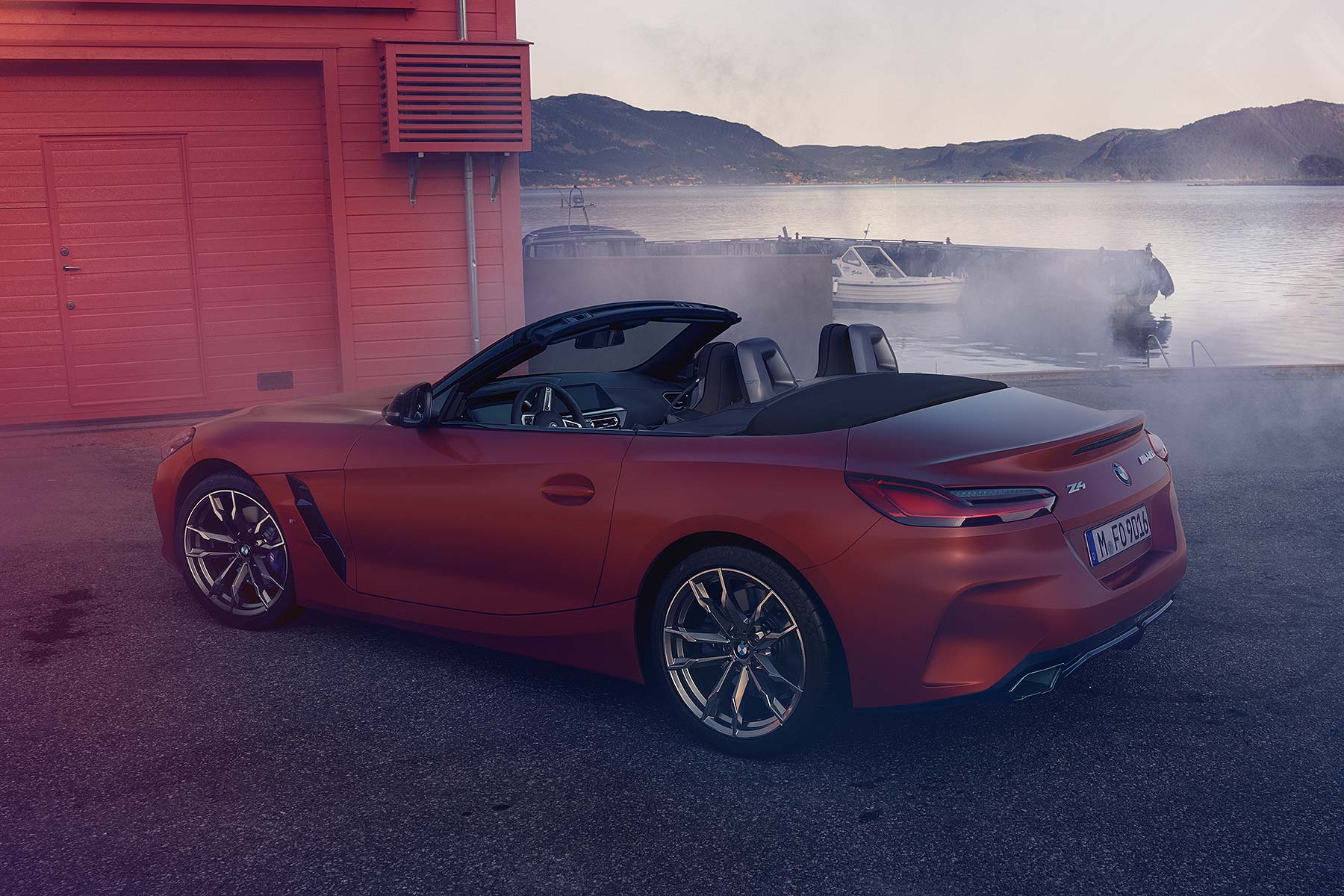 new 2019 bmw z4 revealed at pebble beach. Black Bedroom Furniture Sets. Home Design Ideas
