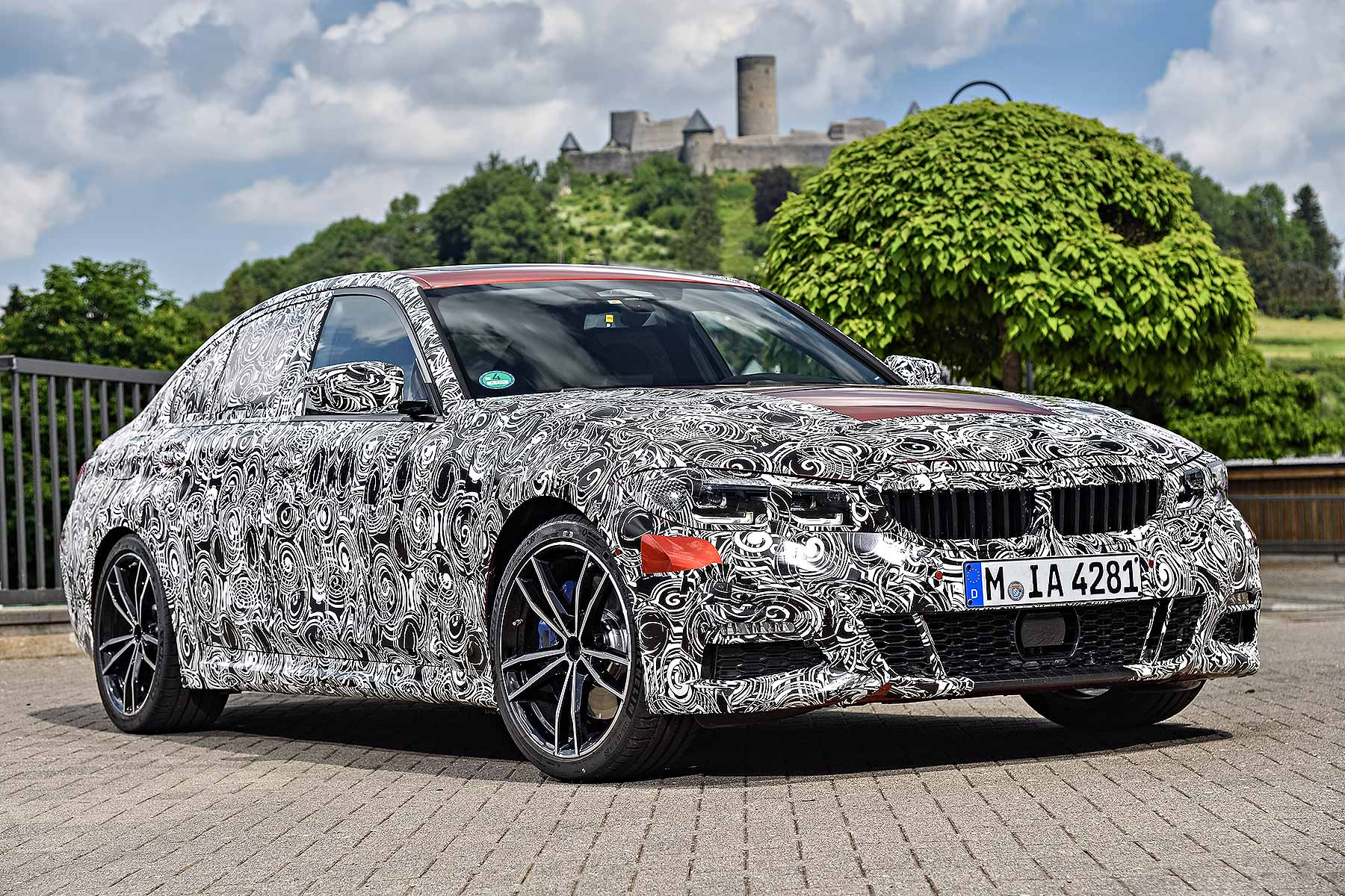 new 2019 bmw 3 series breaks cover at the n rburgring motoring research. Black Bedroom Furniture Sets. Home Design Ideas