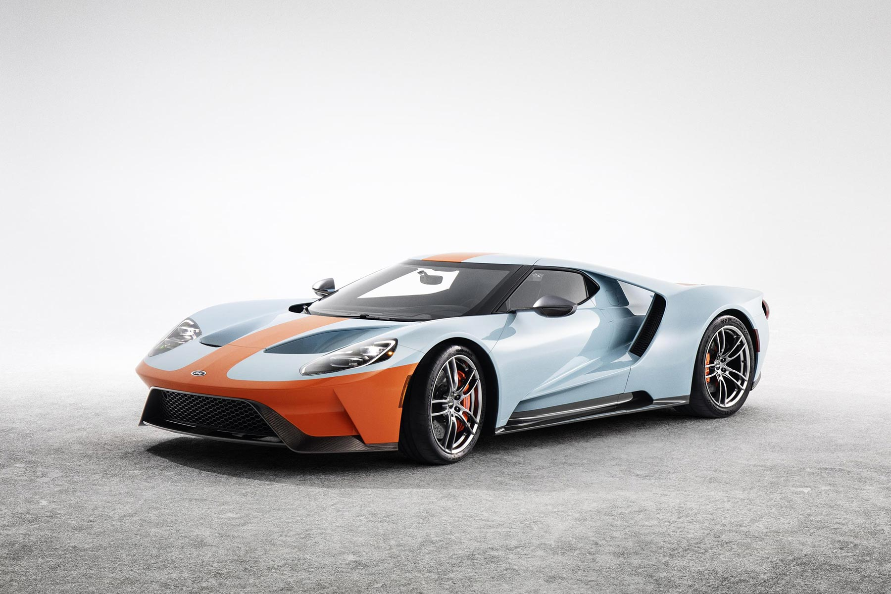 2019 ford gt heritage edition brings back iconic gulf oil livery