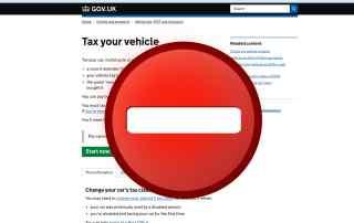 DVLA tax systems offline