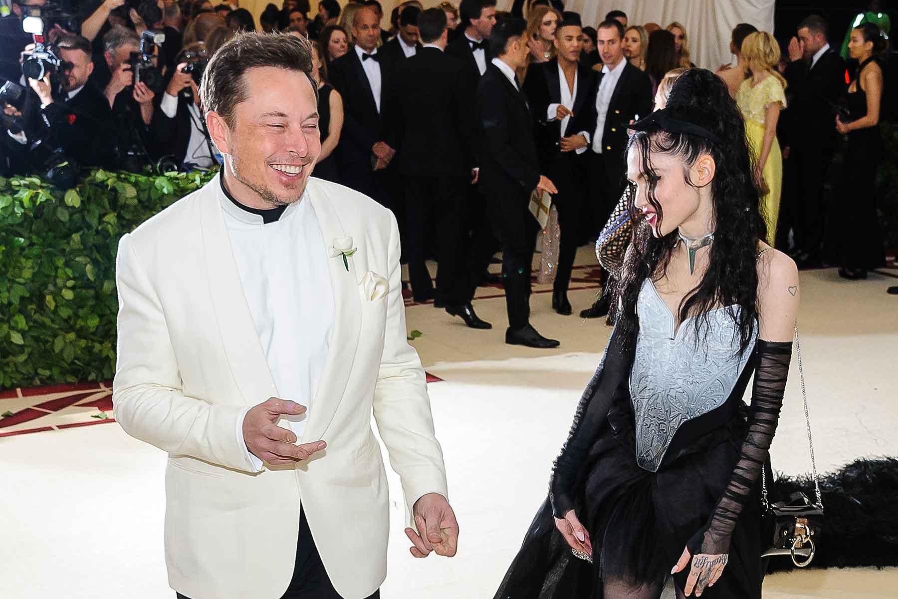 Tesla Elon Musk Grimes