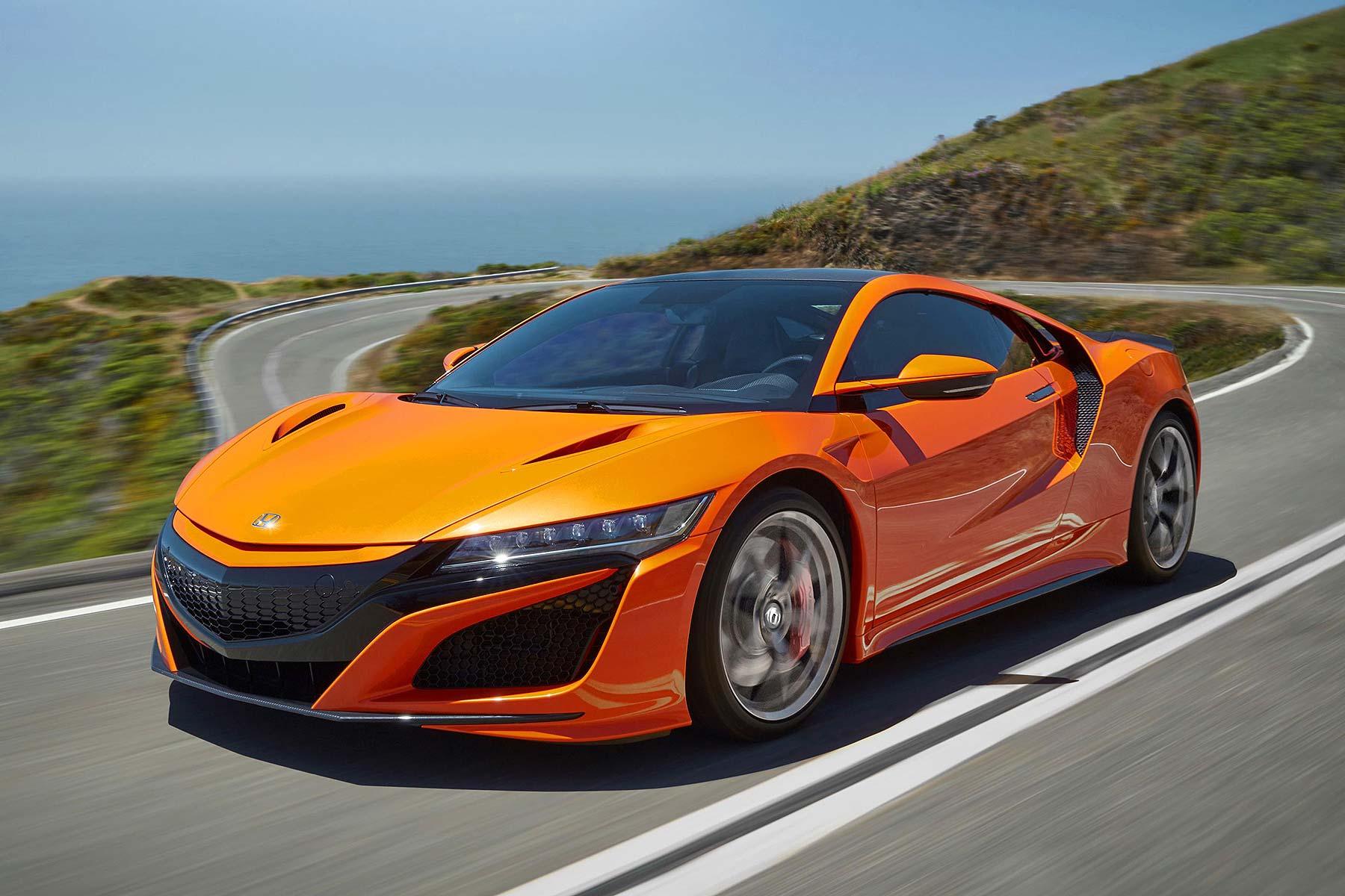 2019 Honda Nsx Is Sharper To Drive Greener And More Orange