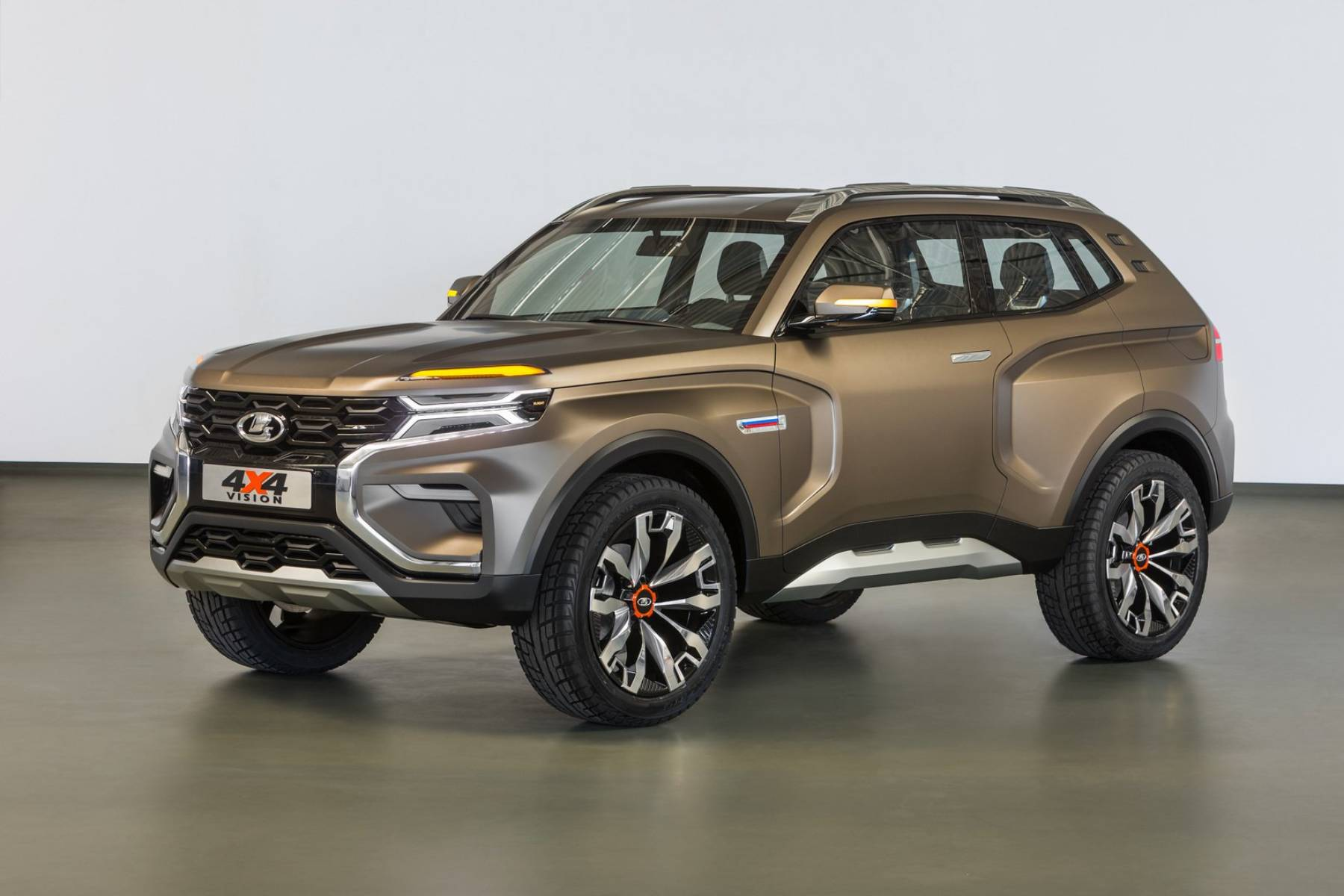 Ranger Rover 2018 >> Lada 4x4 Vision Concept could preview a new Niva | Motoring Research
