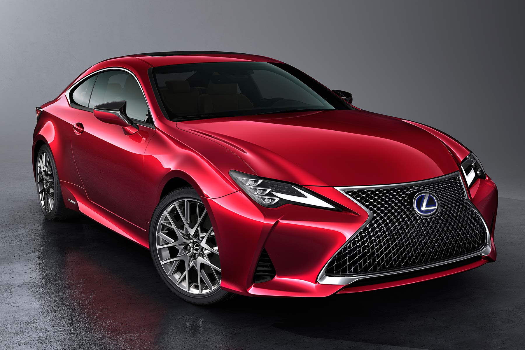 Lexus RC sports coupe updated for 2019