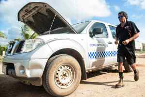 Nissan flies in mechanics to Torres Strait Islands
